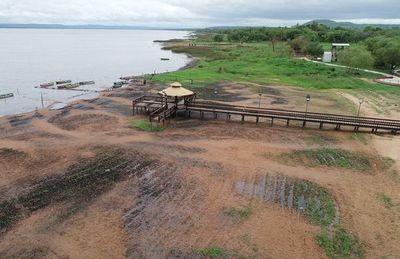 MADES interviene ante incesante descenso del Lago Ypacaraí