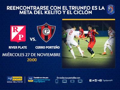 River Plate y Cerro Porteño se citan en el barrio Mburicaó
