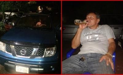 Vendedor de autos detenido por manejar en aparente estado de ebriedad