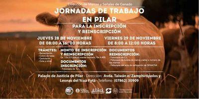 Clausura de reinscripción de Marcas y Señales en Pilar