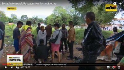 Treinta niños indígenas expuestos a drogas y abusos fueron rescatados