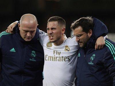La gravedad de la lesión de Eden Hazard