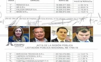 Licitaciones de Itaipu con fuertes influencias políticas