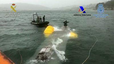 Narcosubmarino interceptado en España llevaba 100 millones de euros en cocaína