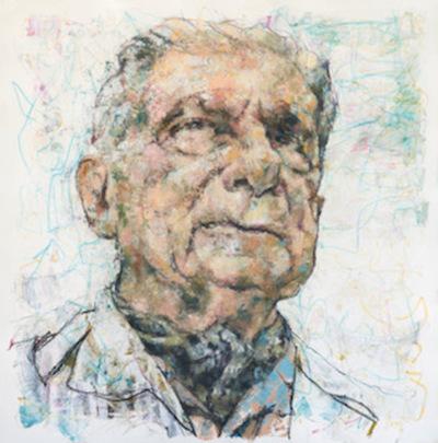 Artista ecuatoriano hará entrega de pintura inspirada en Augusto Roa Bastos