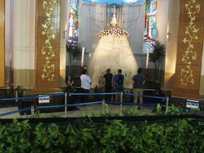 Durante  misas se podrá visitar  gruta de la Virgen