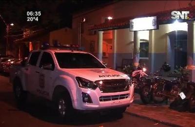 Violento asalto se registró en la zona de Luque