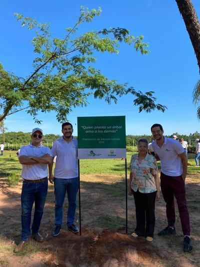 A Todo Pulmón cierra el 2019 con una evaluación y plantación en Piribebuy