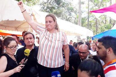 """Huelga judicial: Sindicato de Funcionarios denunciará por """"vandalismo"""" a abogados que se movilizaron frente a Palacio de Justicia"""