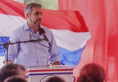Mario Abdo se declara adversario de los que están en contra del pueblo