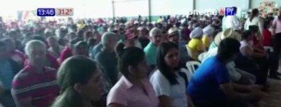 Gobierno paga seguro agrícola en Caazapá