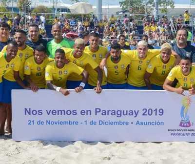 Cuartos de final: Copa Mundial de Beach Soccer 2019
