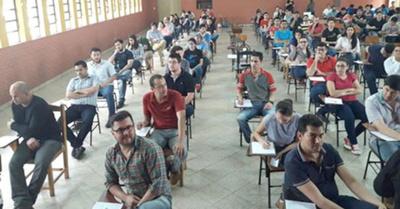 Itaipú: todo listo para que postulantes rindan
