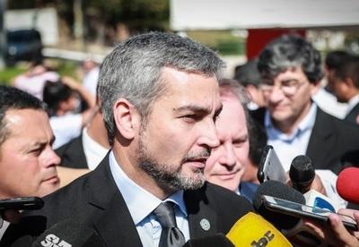 """""""Hay amenazas constantes"""", afirma Abdo Benítez"""