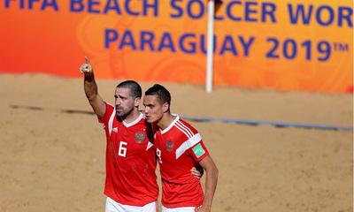 3-4. Rusia manda a Brasil a casa y se mete en las semifinales del Mundial de Fútbol Playa
