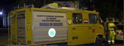 Bomberos de Mariano Roque Alonso en Vigilia