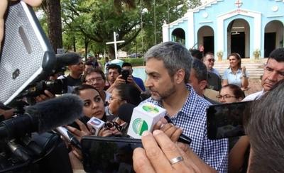 """HOY / Abdo sobre raje de Payo: """"Es una decisión soberana del Senado"""""""