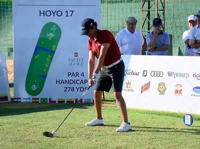 Segundo día del campeonato sudamericano de golf Copa los Andes