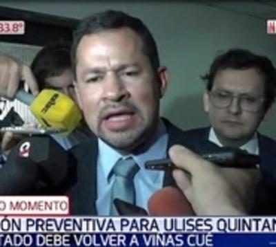 Ulises Quintana a la cárcel, otra vez