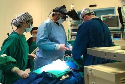 Exitosa cirugía a corazón abierto en la Fundación Tesãi