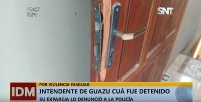 Intendente de Guazú Cuá queda detenido tras agredir a su expareja