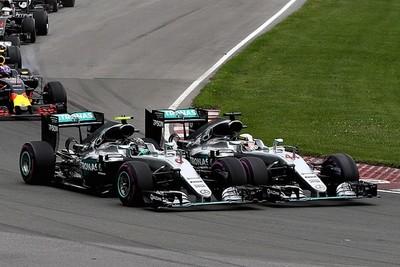 El campeón mundial de la Formula 1 tuvo problemas en el circuito Yas Marina