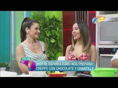 Ratatuille y Crepps con chocolate y chantilly