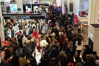 """Black Friday"""" sigue creciendo en EE.UU. a pesar de temores a una recesión"""
