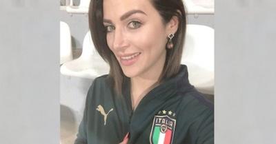 En el fútbol de playa alentando ¿a italianos?