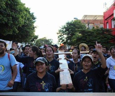 Miles de jóvenes se alistan para tradicional procesión este sábado