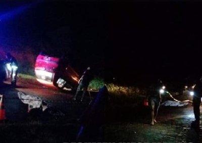 Fatal accidente de tránsito en Itapúa