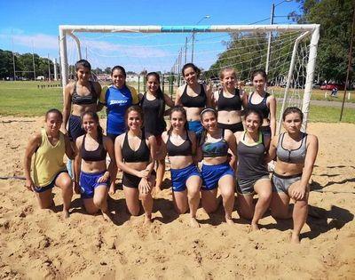 Preparan campeonato de handball de playa en Villarrica