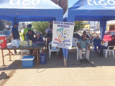 Bomberos de Concepción buscan recaudar 50 millones