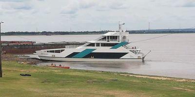 Gran exposición del primer Ferry en la Expo Chaco de Villa Hayes