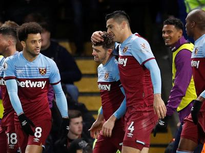 West Ham, con Fabián Balbuena, amarga al Chelsea