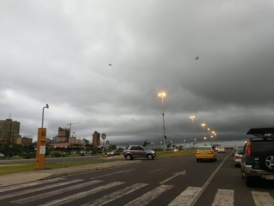 Alerta meteorológica para 10 departamentos