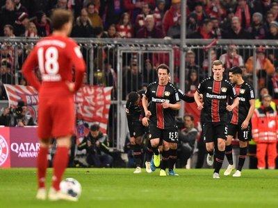 El Leverkusen gana en Múnich y para la racha del Bayern
