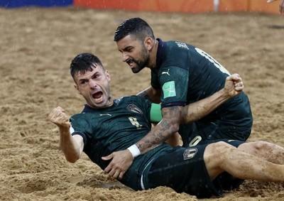Italia es finalista en el Mundial de Beach Soccer