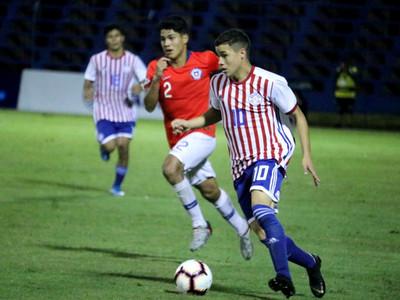 La Albirroja sub-15 empata con Chile en Villa Elisa