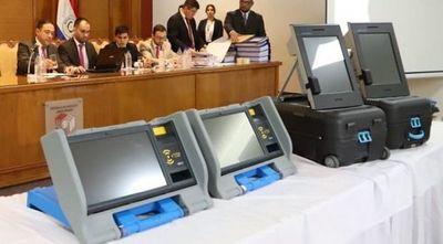 Adjudicaciones de máquinas de votación se harán en diciembre