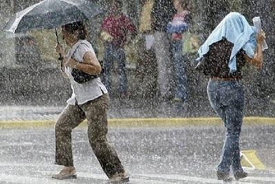Anuncian lluvias y tormentas para este domingo