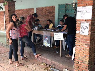 San Carlos del Apa inició jornada de votación en busca de un nuevo intendente