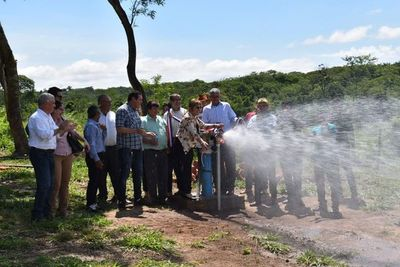 Habilitan sistema de agua potable en Yataity del Norte
