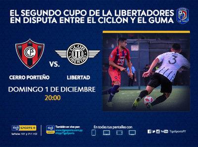 Puntos de Copa para Cerro y Libertad