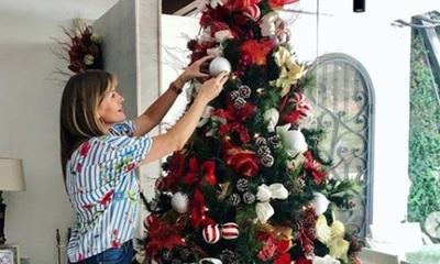 Jazmín Pazos sigue la tradición de navidad de su madre
