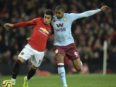 El Aston Villa frustra la remontada del United