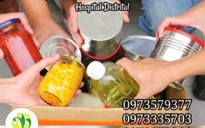 Colectan alimentos y productos de limpieza para entregar a pacientes en navidad