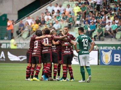 Un Flamengo imparable vence con tantos de 'Gabigol' y De Arrascaeta