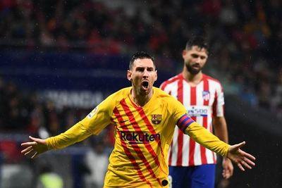 Messi pone líder al Barça