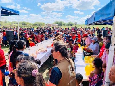 """Campaña """"Regalo de Amor"""" con cerca de 2.500 niños, en Boquerón"""